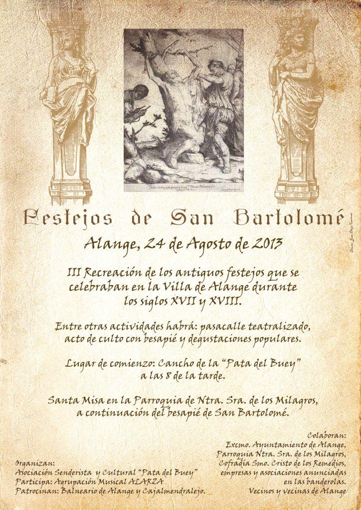 Cartel san bartolome 2013